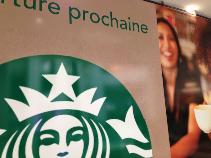 Starbucks coming to Nice Étoile