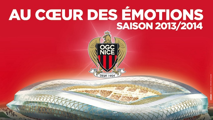 OGC Nice move to Allianz Riviera stadium this September 2013
