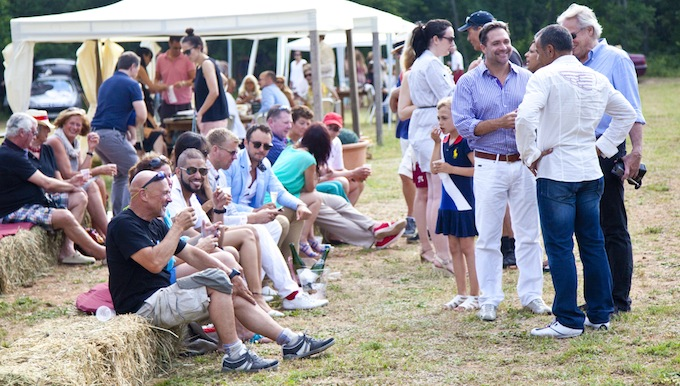 A great social occasion is guaranteed at polo matches in Callian © Mike Colquhoun