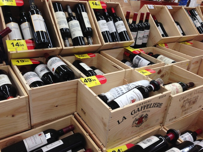 Wines in the Carrefour 2013 Foire aux Vins