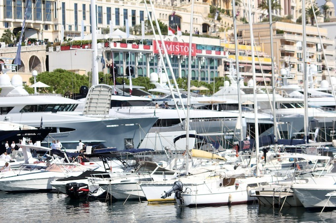 Craft at the Monaco Yacht Show 2013