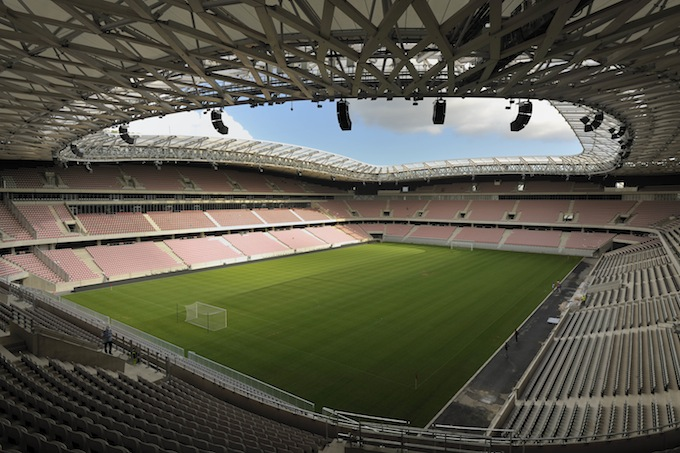 Stade Allianz Riviera in Nice - photo © F. Vigouroux, VINCI