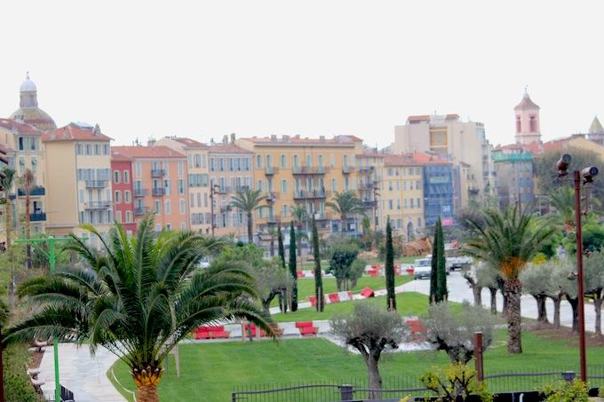 The new Promenade du Paillon in Nice