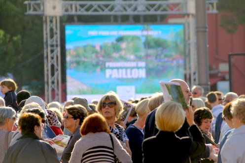 The lead up to the opening of Promenade du Paillon