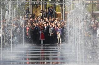 Let the festivities commence! Promenade du Paillon opening 2013