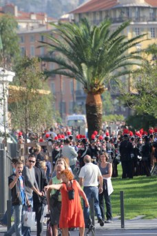 The newly opened Promenade du Paillon in Nice