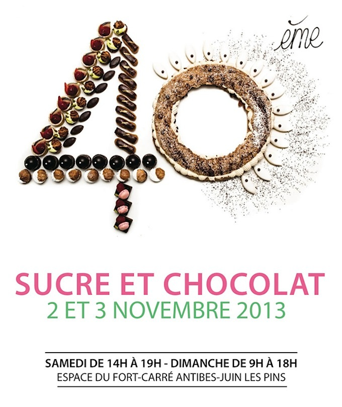 Salon du Sucre et du Chocolat 2013 in Antibes