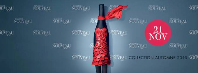Beaujolais Nouveau comes this Thursday, 21st November, 2013