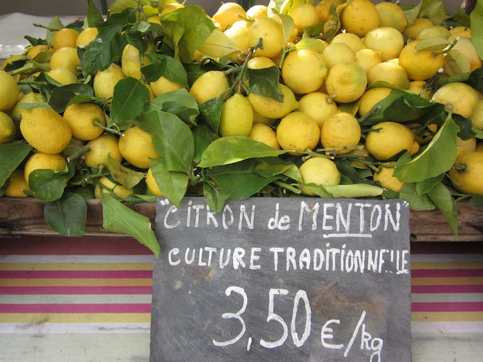 And the price of lemons!! Fête du Citron® 2013 in Menton