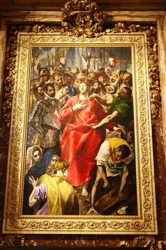 The Disrobing of Christ by ElGreco in Toledo, Spain