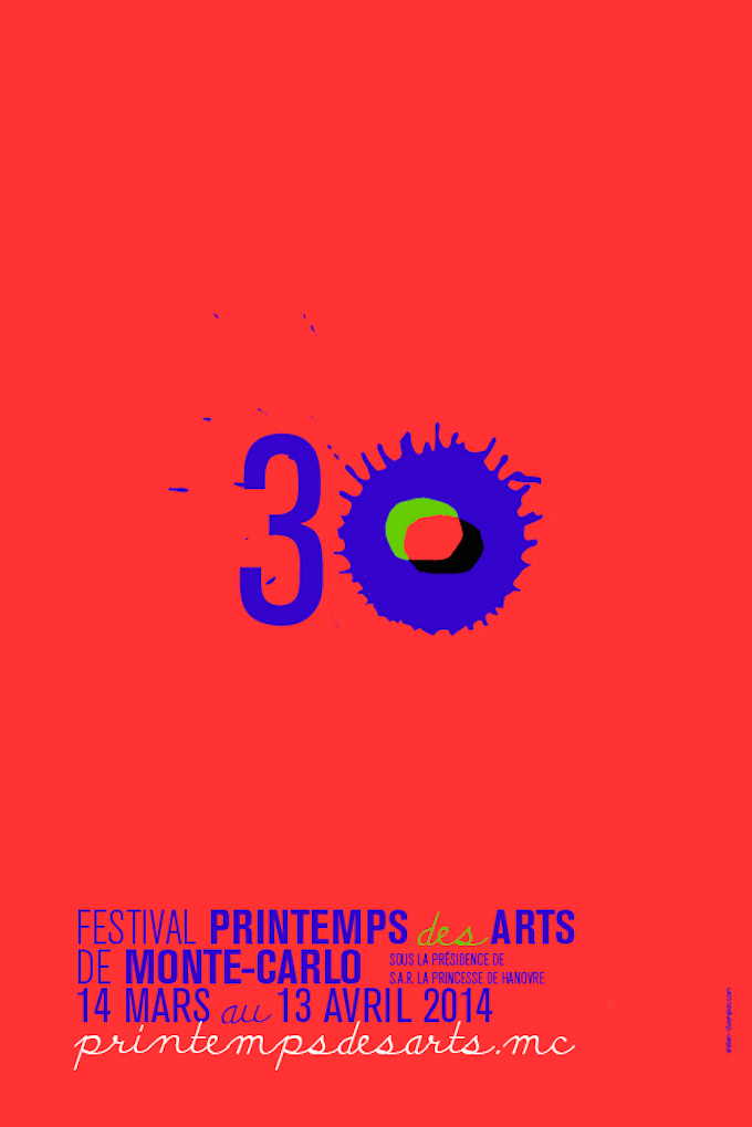 Poster for Printemps des Arts de Monte-Carlo 2014