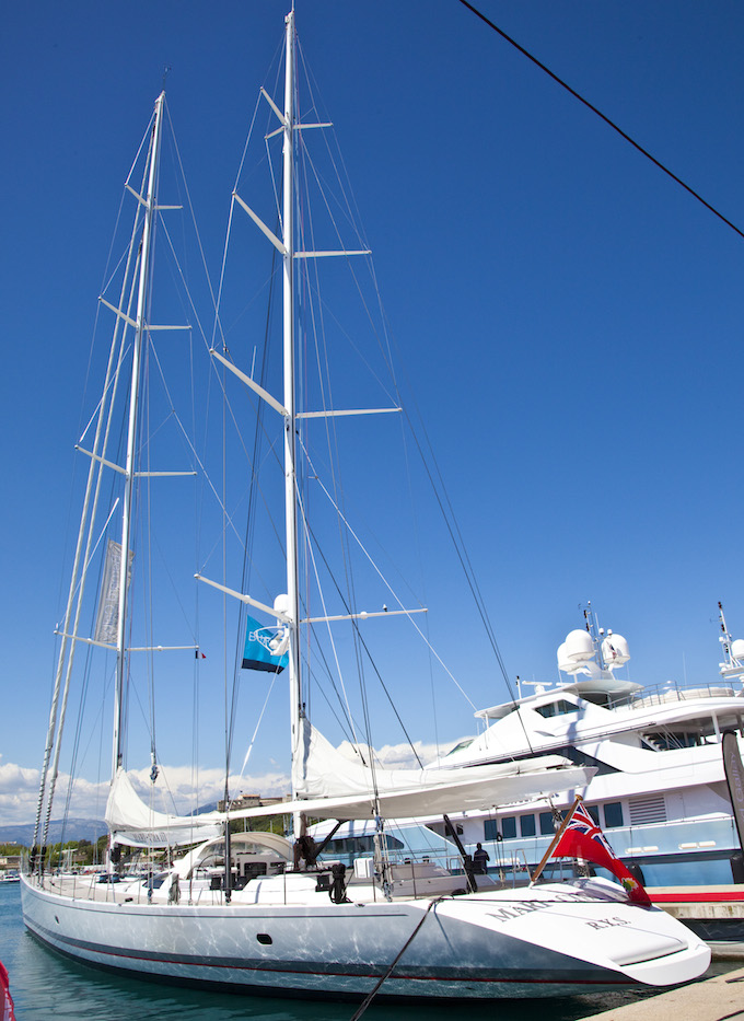 Nice yachts at the 2014 Antibes Yacht Show