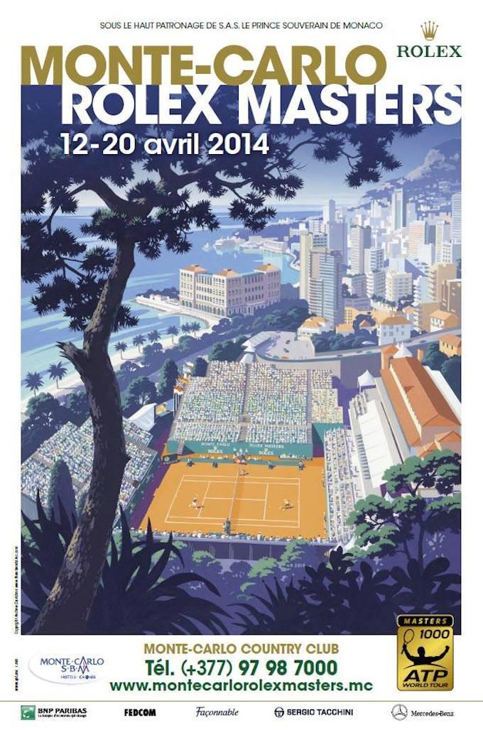 Monte-Carlo Rolex Masters 2014 poster