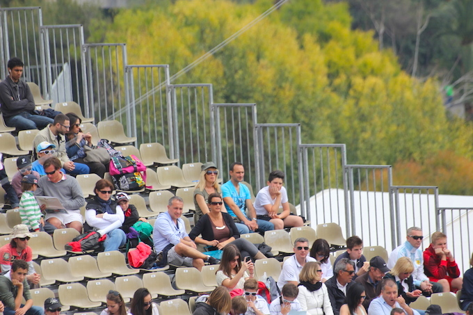 Section of the crowd at Monte-Carlo Rolex Masters 2014