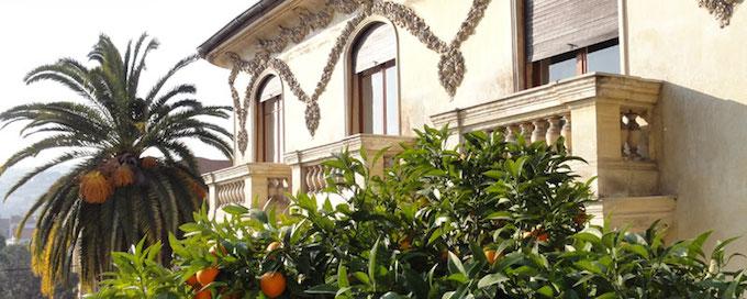 The Villa Cameline in Nice