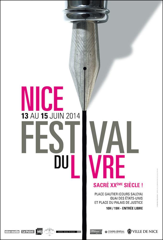 Festival du Livre - Nice, 2014