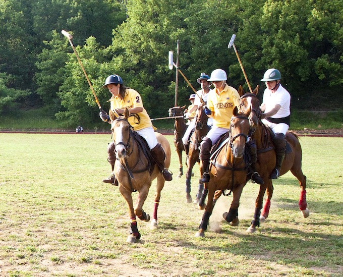 Polo at Callian