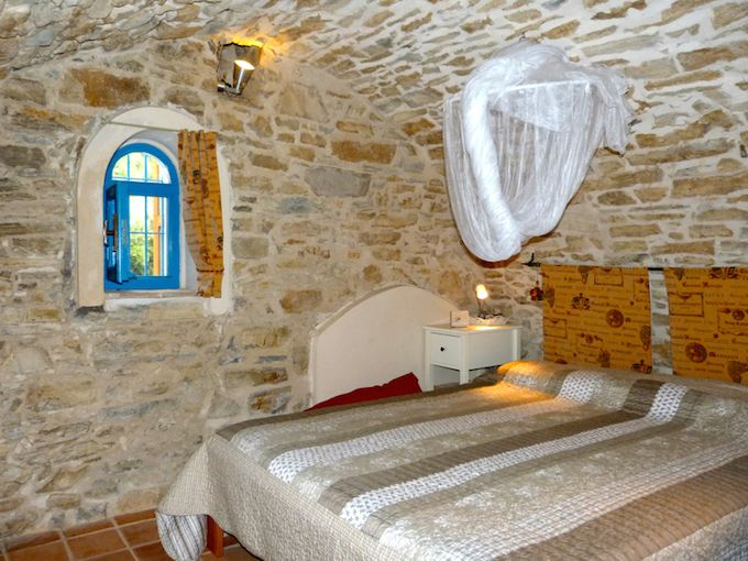 Interior of house in Perinaldo in Liguria