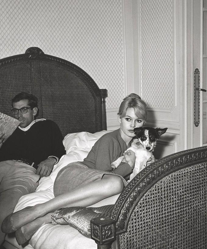 Brigitte Bardot © Edward Quinn