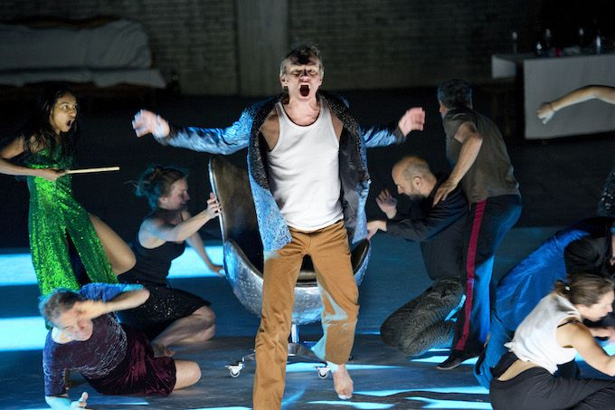 Ingvar Sigurðsson in Peer Gynt at the Barbican