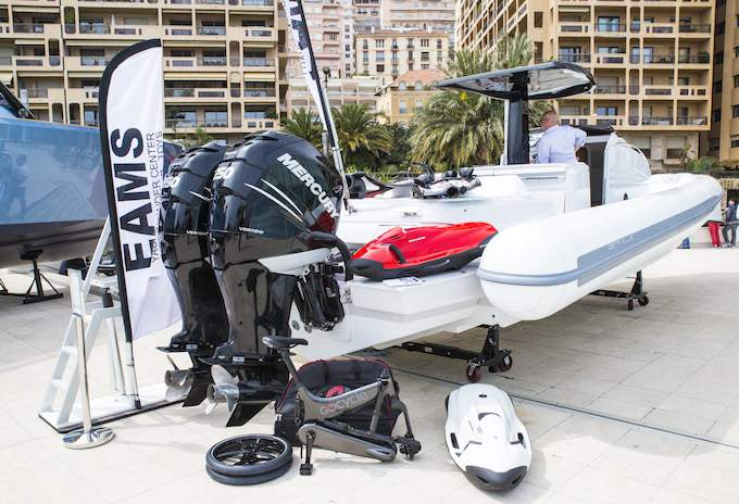Boats also feature at Top Marques Monaco 2015 at the Grimaldi Forum