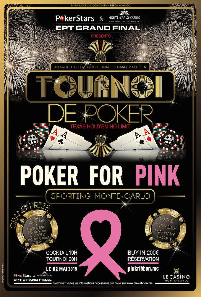 Poker for Pink in Monaco 2015