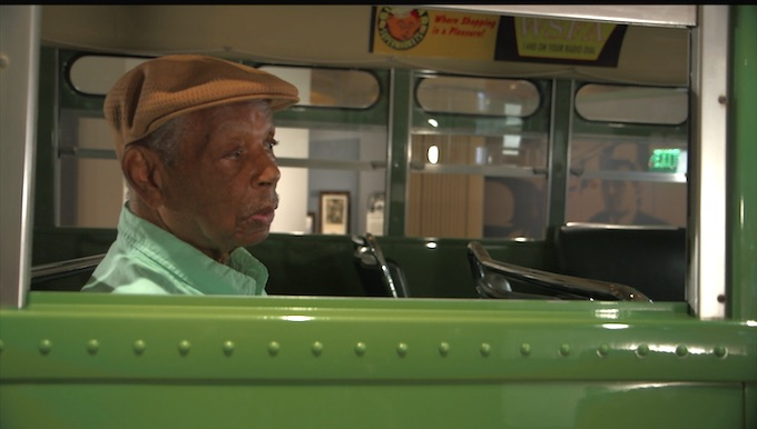 Judge Damon Keith on the Rosa Parks' bus