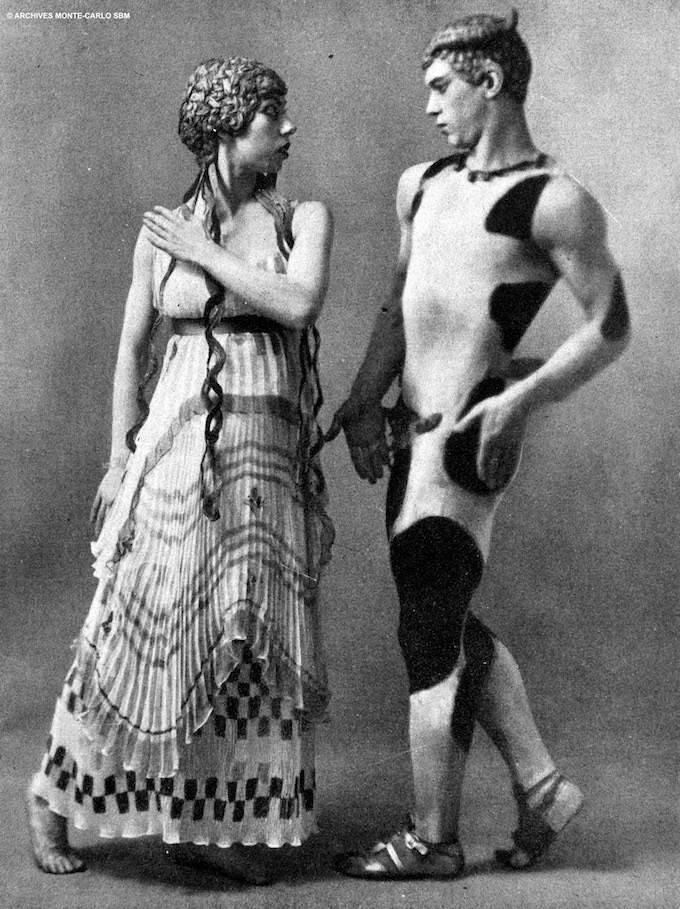 Nijinsky and sister © Archives Monte-Carlo SBM