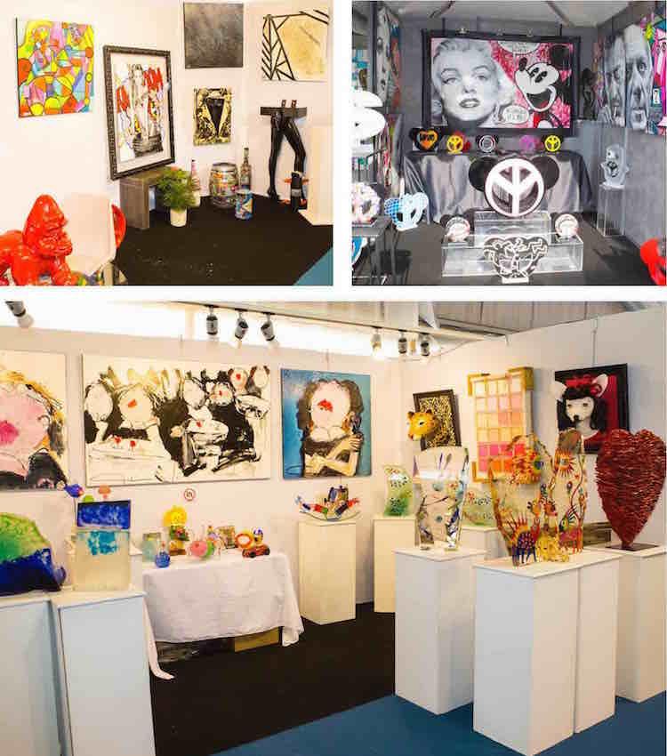 2015 Art & Antiquities Fair at Villefranche Citadelle
