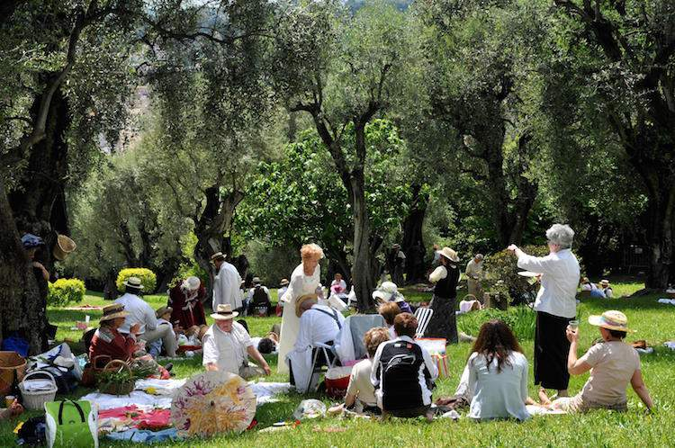 Renoir picnic in Cagnes-sur-Mer on the French Riviera
