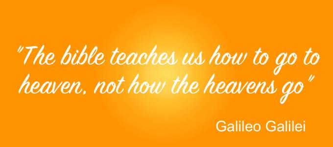 L'Autre Galilée - quote