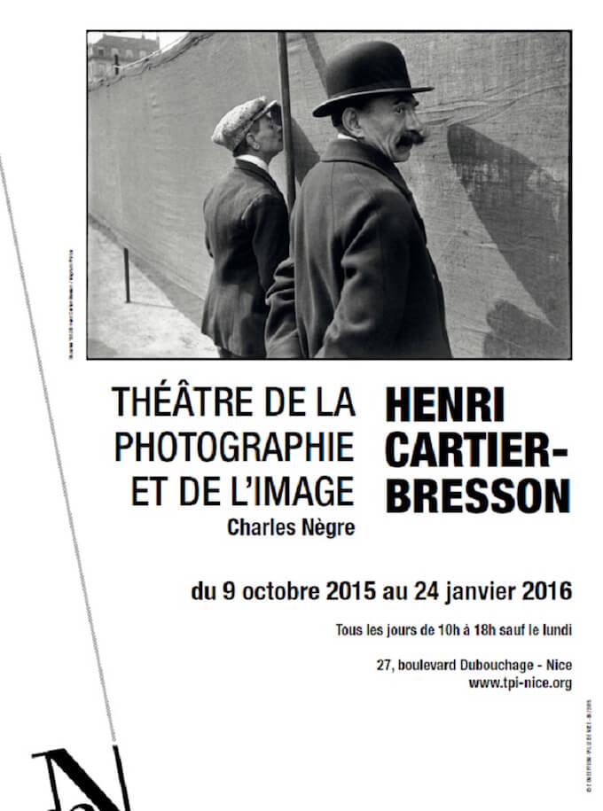 Henri Cartier-Bresson expo in Nice