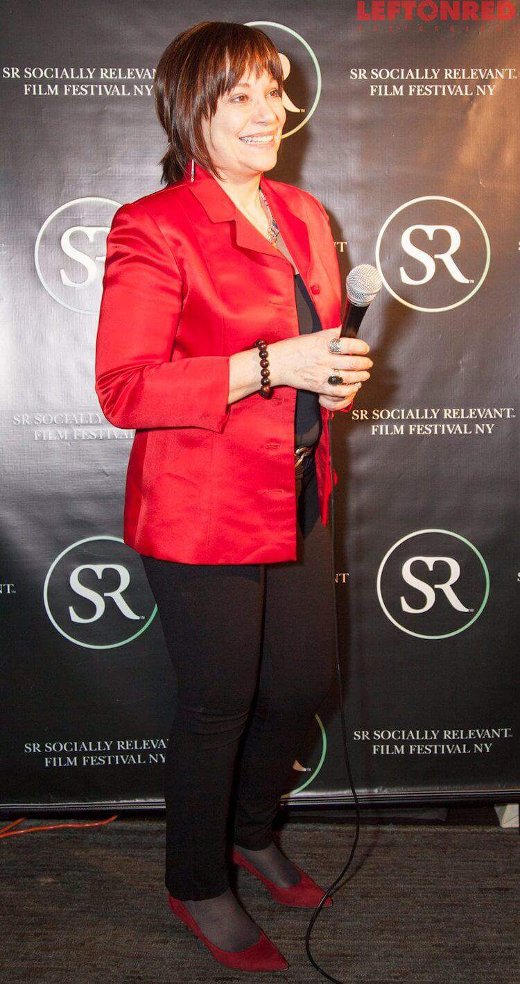 Nora Armani at 2015 Socially Relevant Film Festival New York