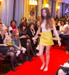 Fashion show at Hôtel Ellington in Nice