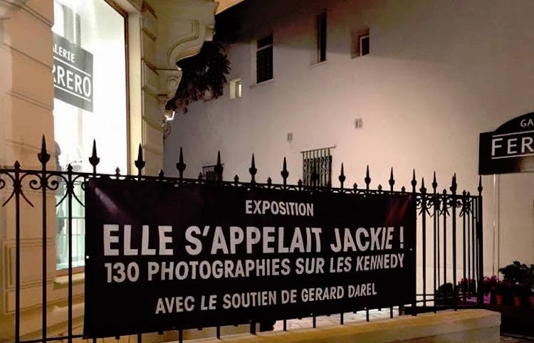 Jackie Kennedy exhibition in Nice