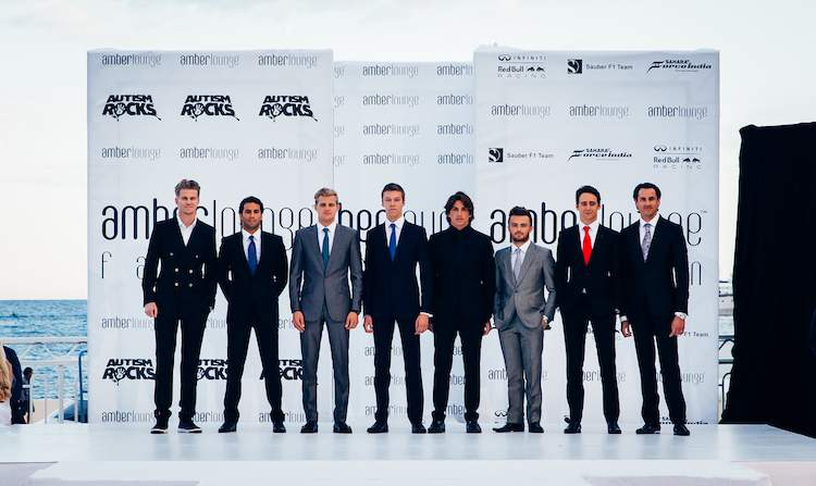 AMBER LOUNGE Monaco 2015 Fashion F1 drivers