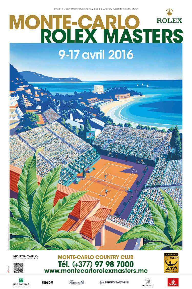 Poster for Monte Carlo Masters 2016