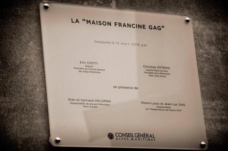plaque-maison-francine-gag