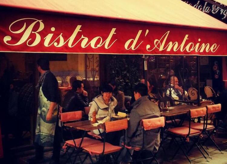 Bistrot d'Antoine in Nice