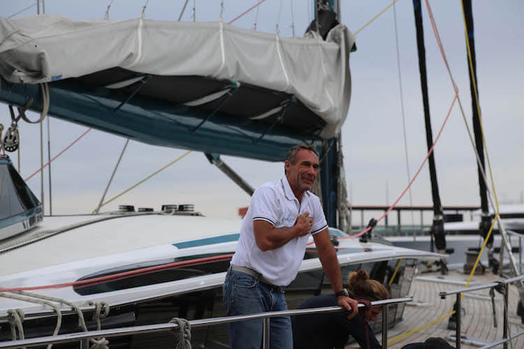 Mike Horn departs Monaco on Pole2Pole expedition