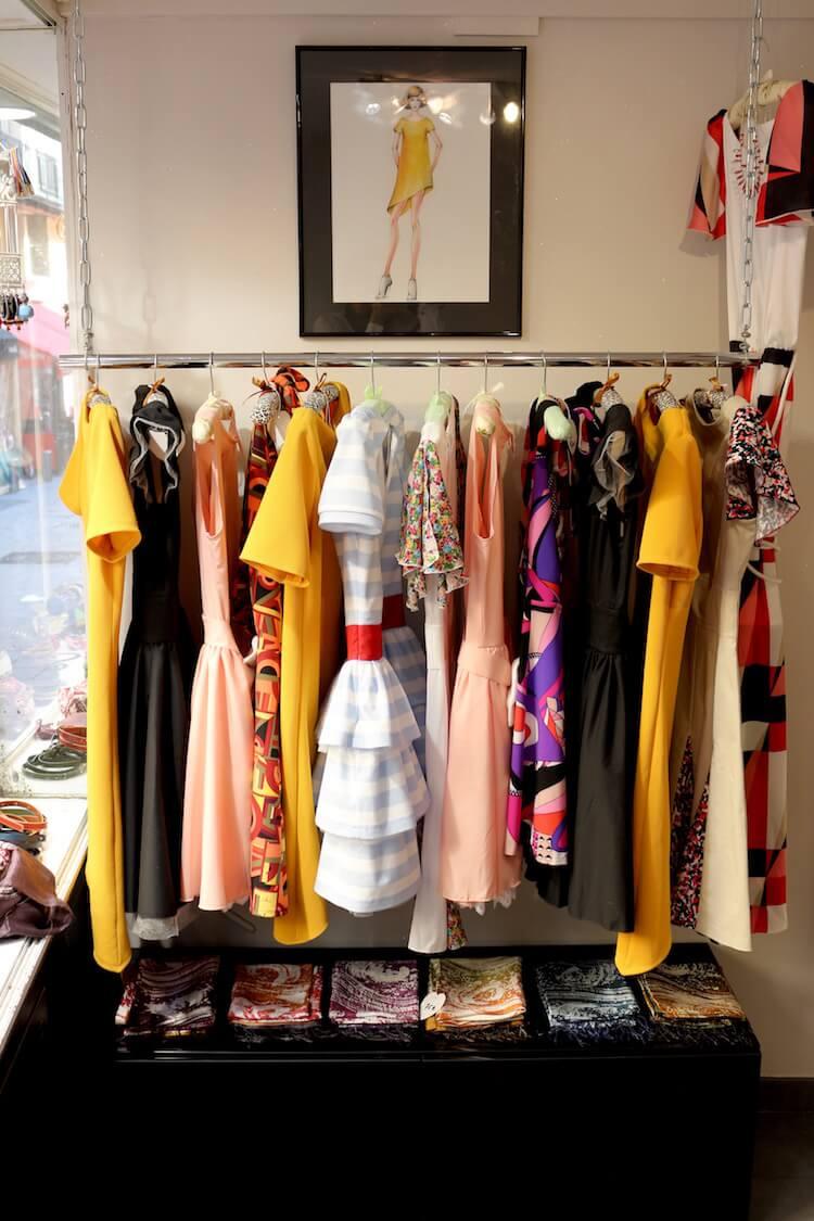 Nina Transfeld boutique interior in Nice