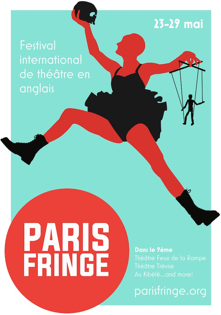 Paris Fringe poster 2016