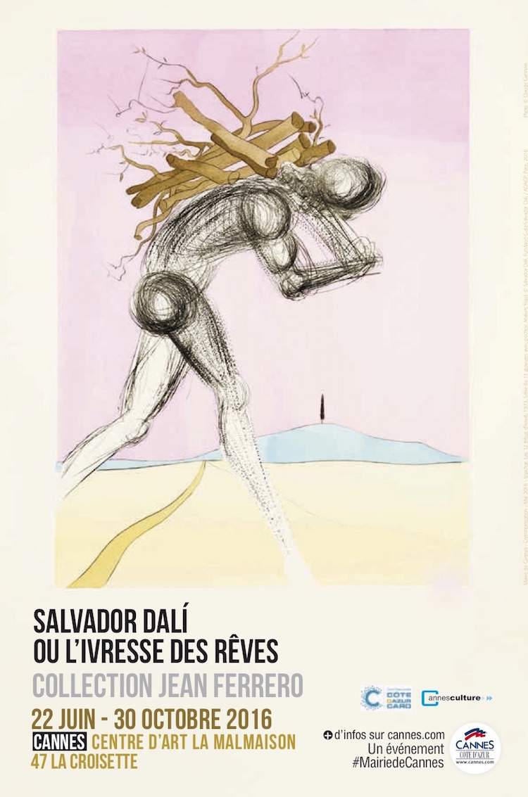 Salvador Dalí exhibition poster