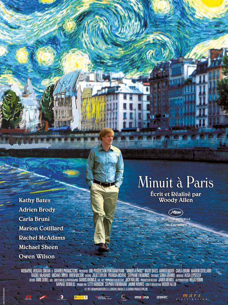 Minuit à Paris poster Ciné Quartier