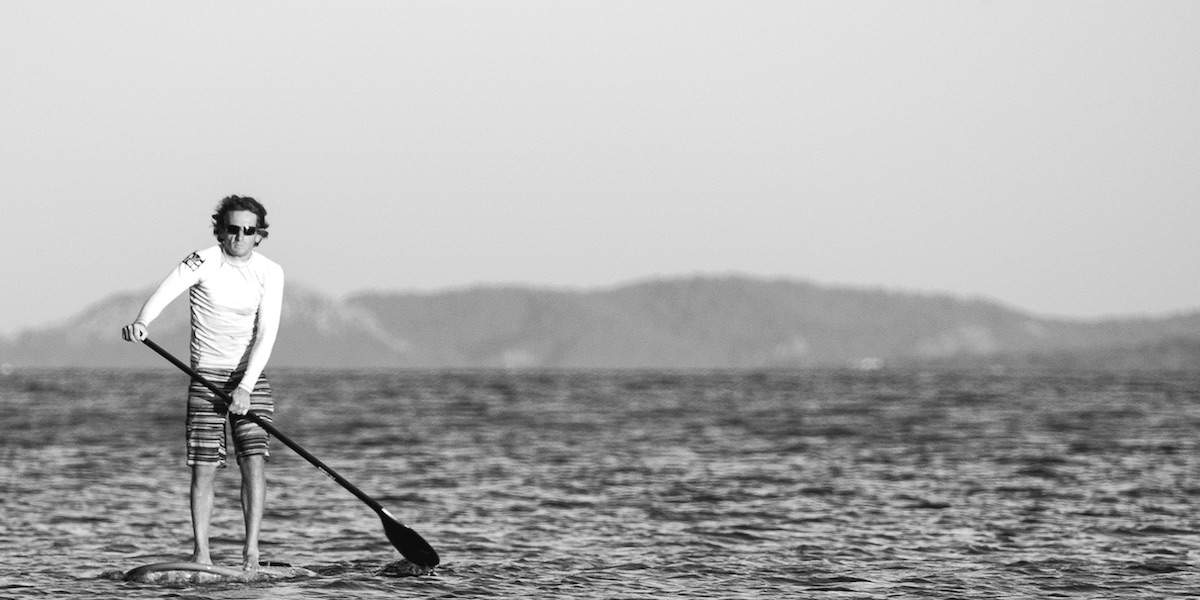 Paddleboarding © Guillaume de Germain