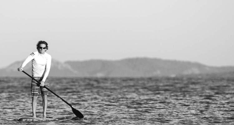 Paddleboarding © Guillaume de Germain