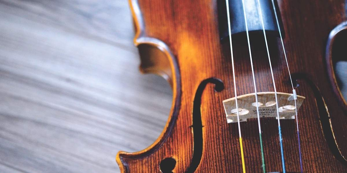 Violin by Providence Doucet