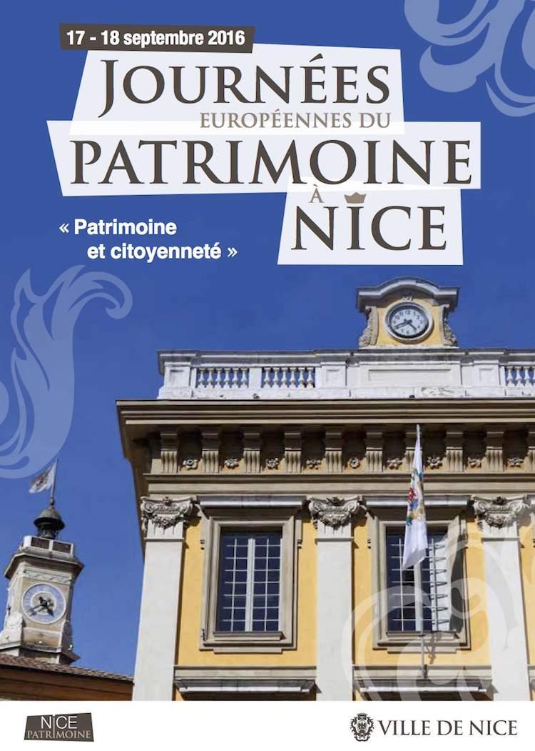 Les journées du Patrimoine Nice 2016