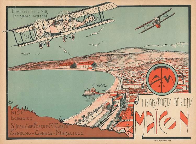 Transports aériens Maïcon poster