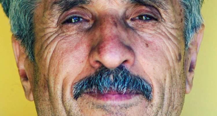 Moustachioed man by Aleksandar Popovski